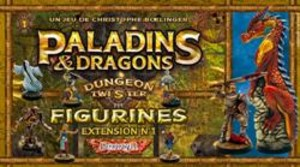 Dungeon Twister : Paladins et Dragons (Figurines)