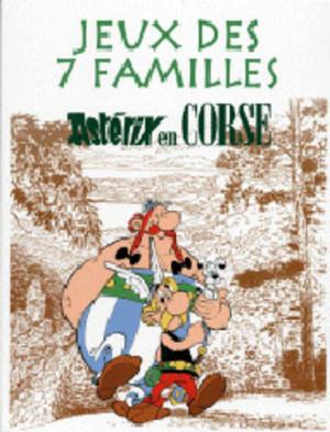 Jeux des 7 Familles - Astérix en Corse