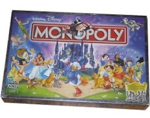 monopoly edition disney jeu de soci t tric trac. Black Bedroom Furniture Sets. Home Design Ideas