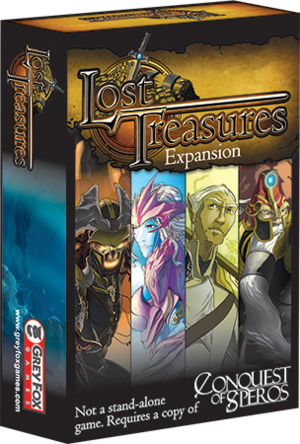 Lost Treasures: Expansion for Conquest of Speros