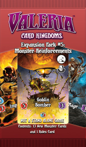 Valeria: Card Kingdoms - Expansion Pack #5 - Monster Reinforcements