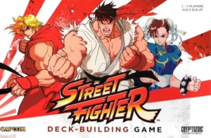 Capcom Street Fighter Deckbuilding Game