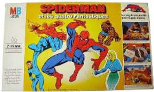 Spiderman et les quatre Fantastiques