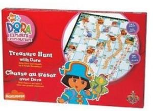 Chasse au trésor avec Dora