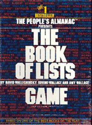 The Book of Lists Game