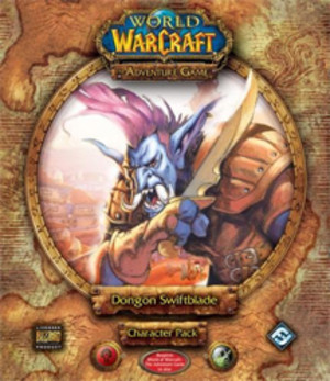 World of Warcraft : the Adventure Game Dongon Swiftblade Character Pack