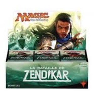 "Magic ""the Gathering"" ; La Bataille de Zendikar : pack d'intro et booster pack"