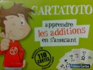 Cartatoto, apprendre les additions en s'amusant