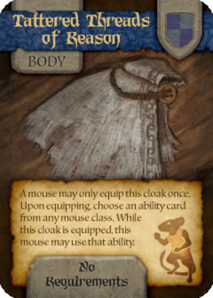 Mice and Mystics : Tattered Threads of Reason