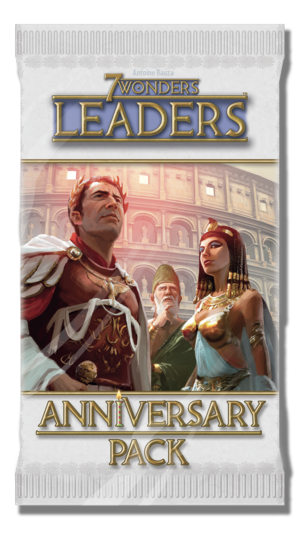 7 Wonders Leaders : Anniversary Pack