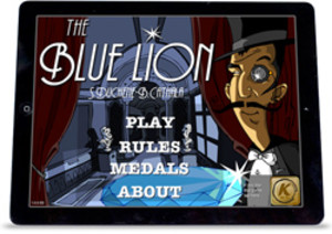 Blue Lion iPad