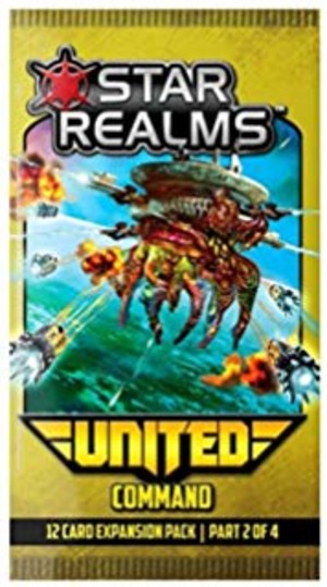 Star Realms United : Commandement