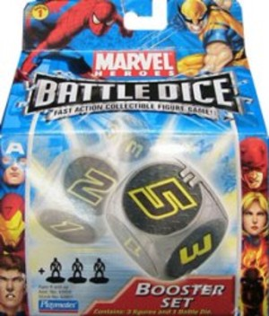 Battle Dice Marvel Heroes - Booster