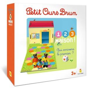 Petit Ours Brun - 1, 2, 3, maison !