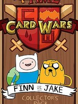 Adventure Time Card Wars : Finn VS Jake