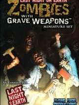 Zombies with Grave Weapon Miniature Set