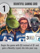 Roll for the Galaxy - Tuile bonus Bountiful Gaming Grid