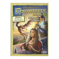 Carcassonne - extension 3  : Princesse et Dragon