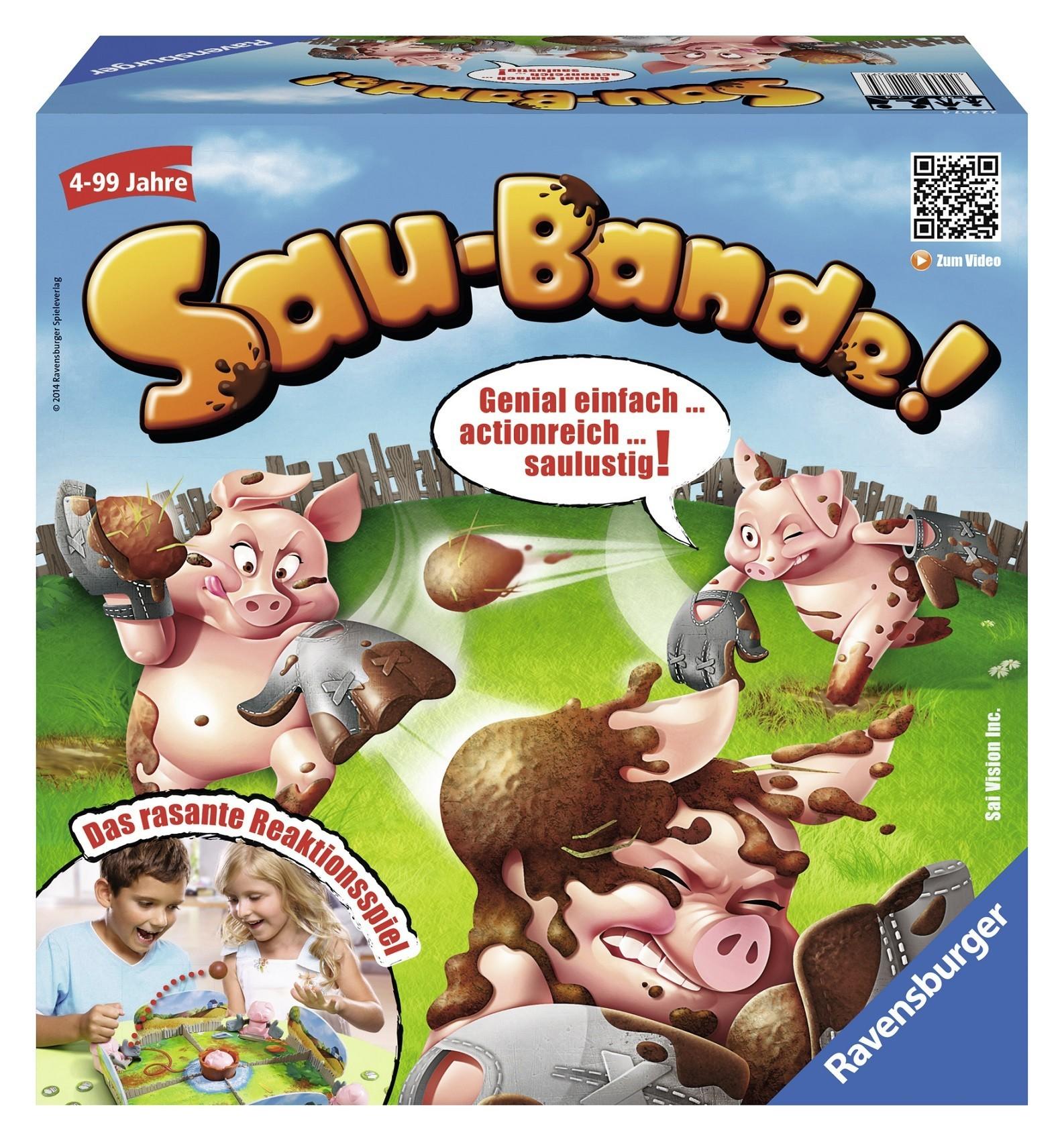 Saubere Sau-Bande