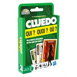 On joue à Cluedo Cartes à 2 !