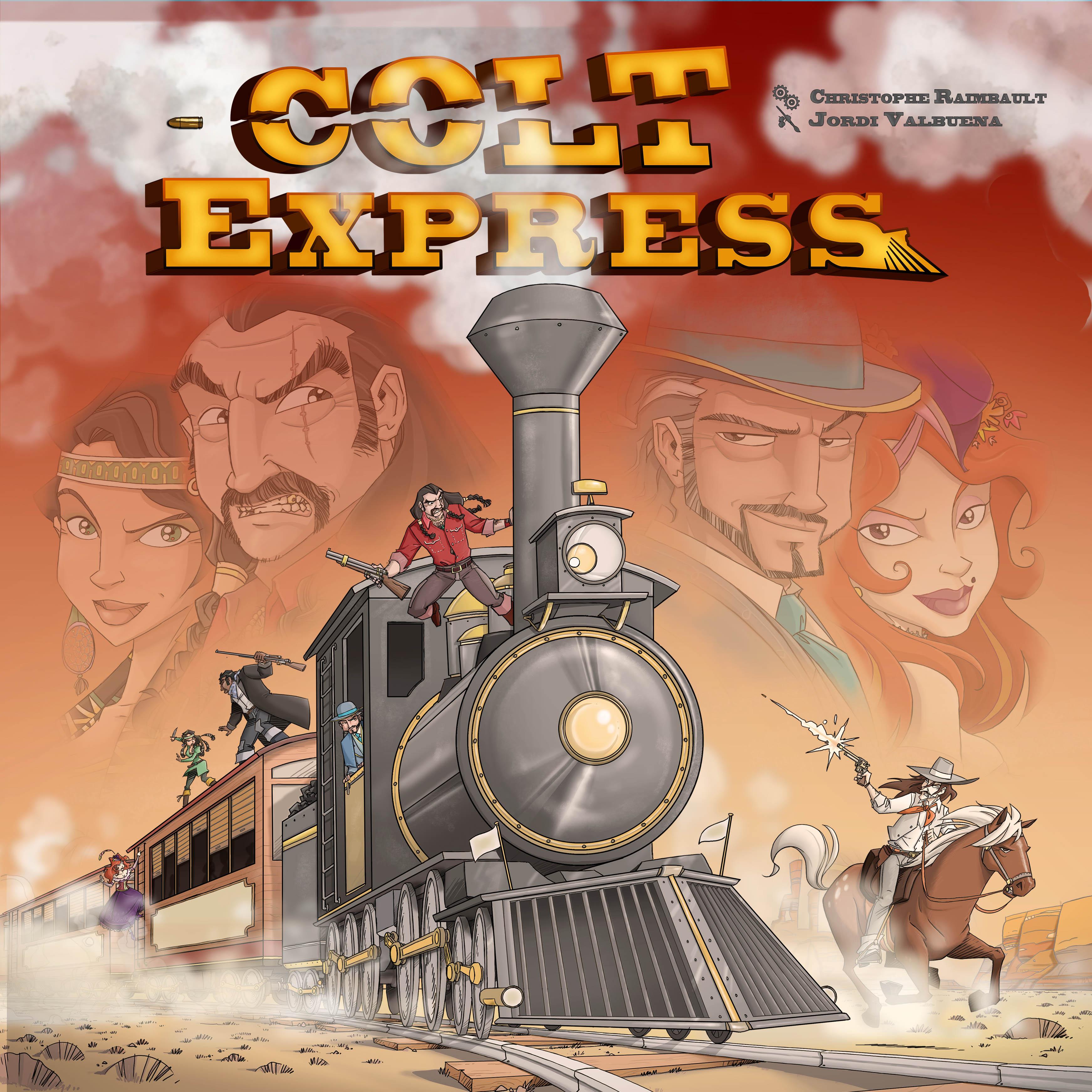Colt Express, Pan ! Pan ! Pif ! Paf ! feront les Ludonautes à Essen