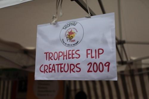 Le FLIP 2009 : trophées des créateurs