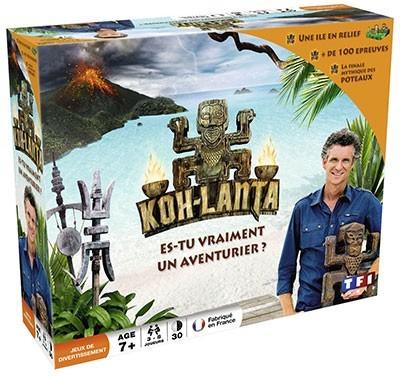 <p>Koh-Lanta est disponible. Vivez des aventures en salon.</p>
