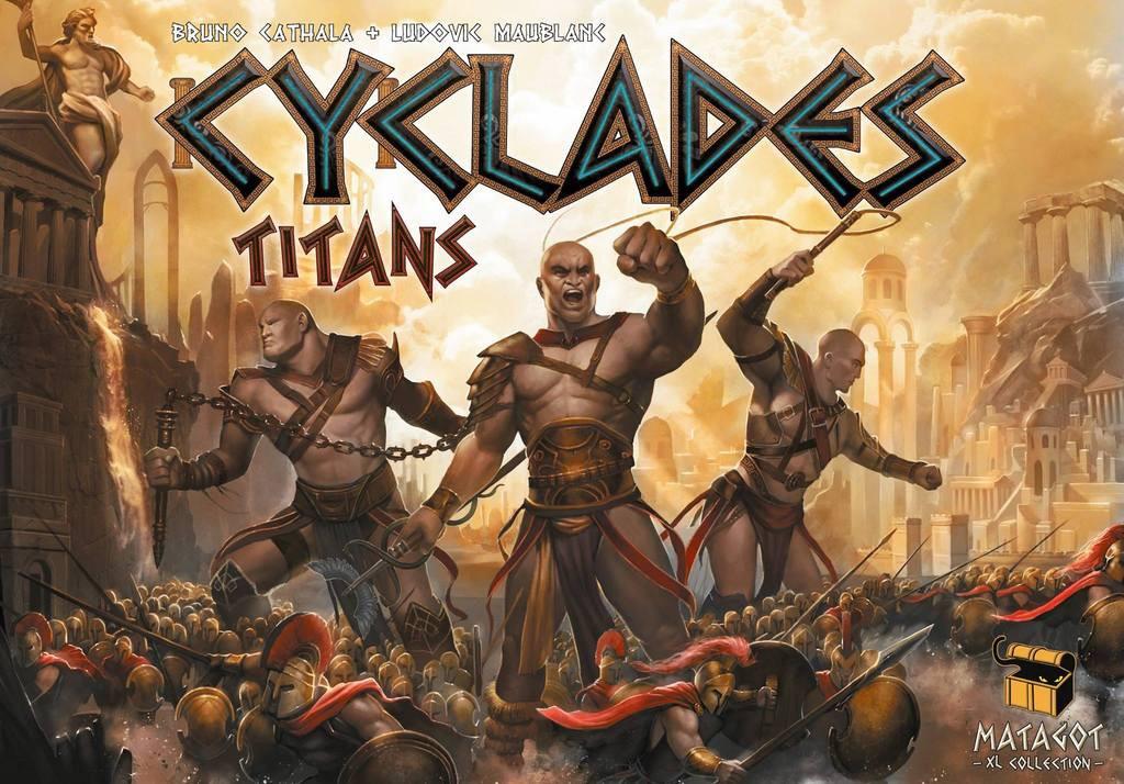 Titans, l'extension qui rajoute de la testostérone à Cyclades