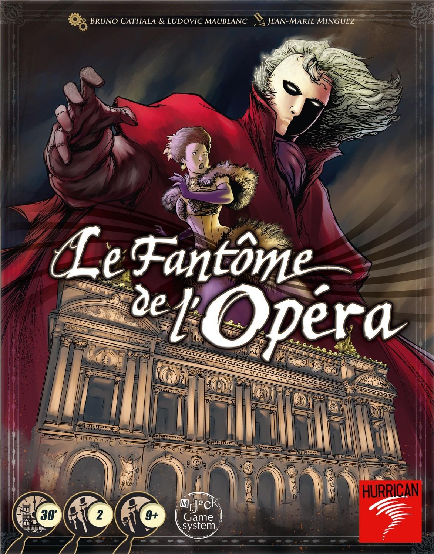 Le Fantôme de l'Opéra est là !