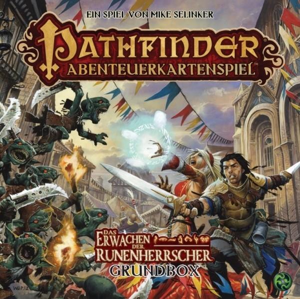 Angekommen: Pathfinder-Kartenspiel auf deutsch